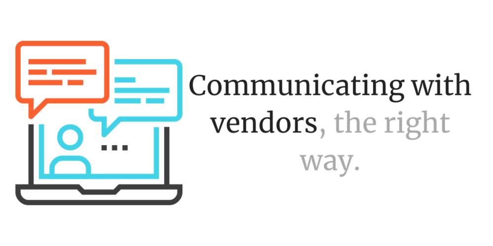 Communicating with vendors - How to chat with wedding vendors, get the right info, pick the right vendor, and red flags to beware of.