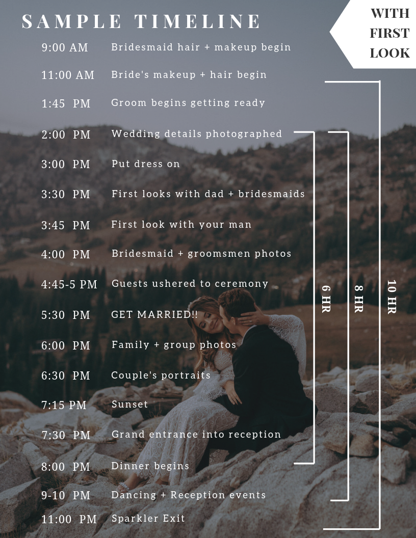 Wedding Photography Timeline with First Look.png