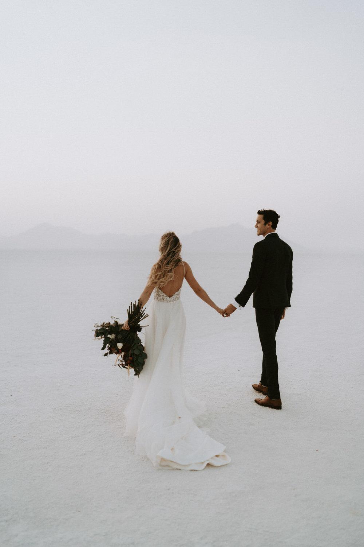 Bonneville Salt Flats Elopement- Utah Elopement Adventurous Wedding Photographer-264.jpg