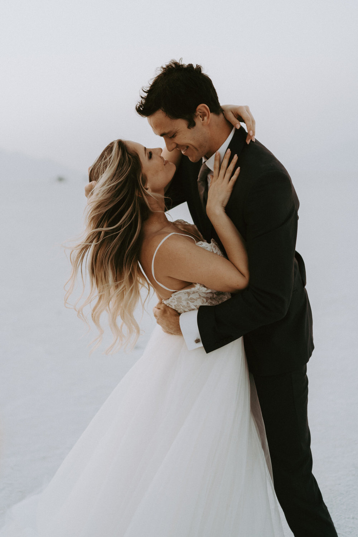 Bonneville Salt Flats Elopement- Utah Elopement Adventurous Wedding Photographer-303.jpg