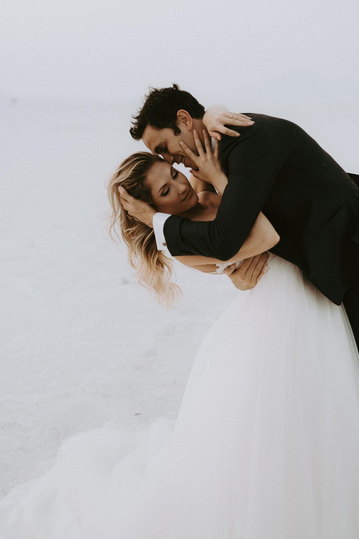 Bonneville Salt Flats Elopement- Utah Elopement Adventurous Wedding Photographer-319.jpg