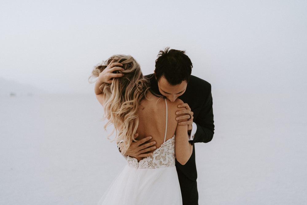 Bonneville Salt Flats Elopement- Utah Elopement Adventurous Wedding Photographer-504.jpg