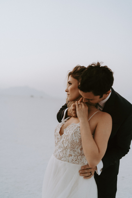Bonneville Salt Flats Elopement- Utah Elopement Adventurous Wedding Photographer-526.jpg