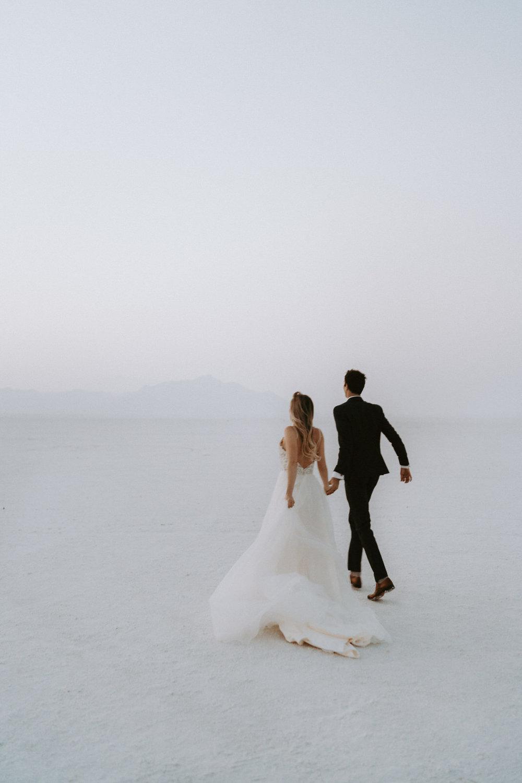 Bonneville Salt Flats Elopement- Utah Elopement Adventurous Wedding Photographer-558.jpg
