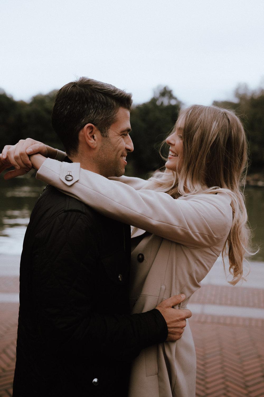 New York Engagement Photos- Bethesda Terrace- Central Park- Michelle Gonzalez Photography-60.JPG