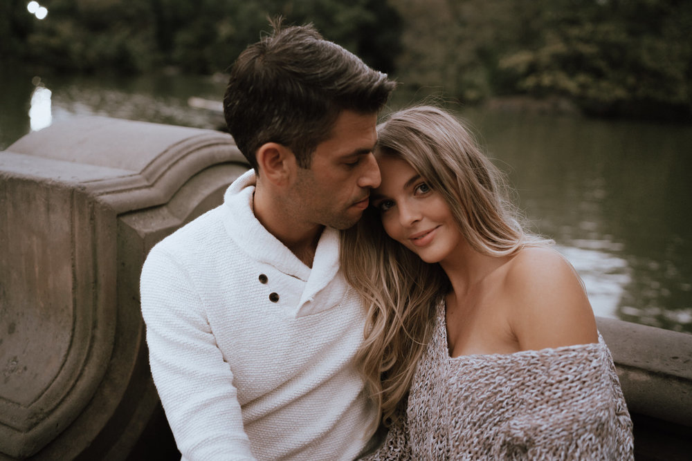 New York Engagement Photos- Bethesda Terrace- Central Park- Michelle Gonzalez Photography-66.JPG