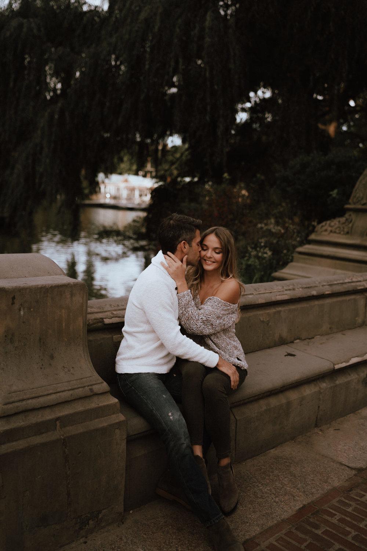 New York Engagement Photos- Bethesda Terrace- Central Park- Michelle Gonzalez Photography-98.JPG
