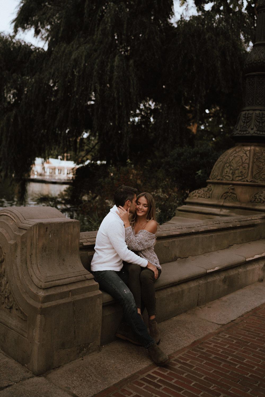 New York Engagement Photos- Bethesda Terrace- Central Park- Michelle Gonzalez Photography-99.JPG