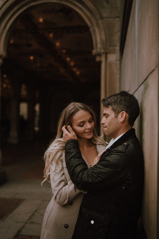 New York Engagement Photos- Bethesda Terrace- Central Park- Michelle Gonzalez Photography-159.JPG