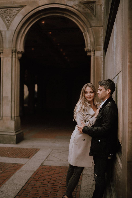 New York Engagement Photos- Bethesda Terrace- Central Park- Michelle Gonzalez Photography-155.JPG