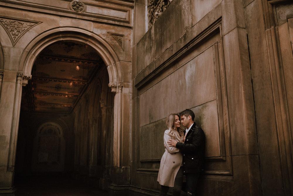 New York Engagement Photos- Bethesda Terrace- Central Park- Michelle Gonzalez Photography-186.JPG