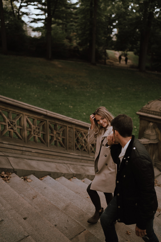 New York Engagement Photos- Bethesda Terrace- Central Park- Michelle Gonzalez Photography-196.JPG