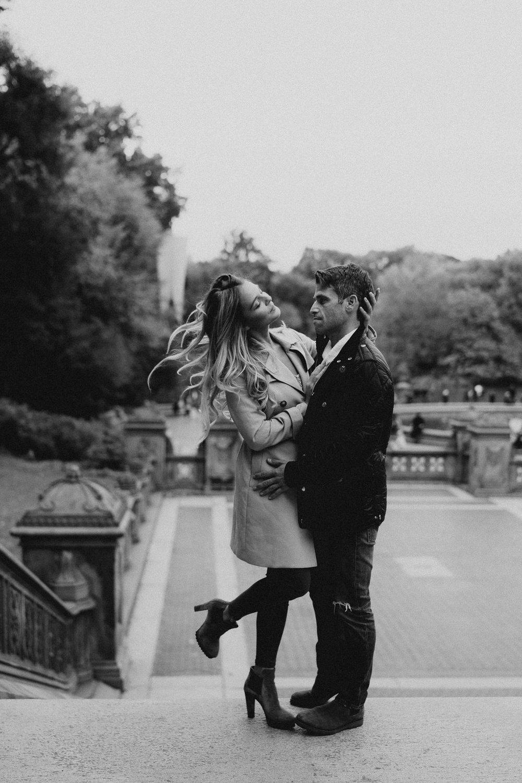 New York Engagement Photos- Bethesda Terrace- Central Park- Michelle Gonzalez Photography-203-2.JPG