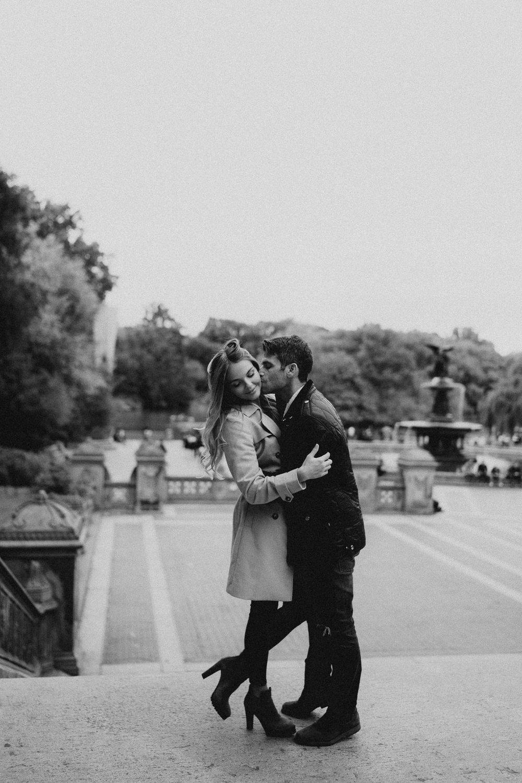 New York Engagement Photos- Bethesda Terrace- Central Park- Michelle Gonzalez Photography-206.JPG