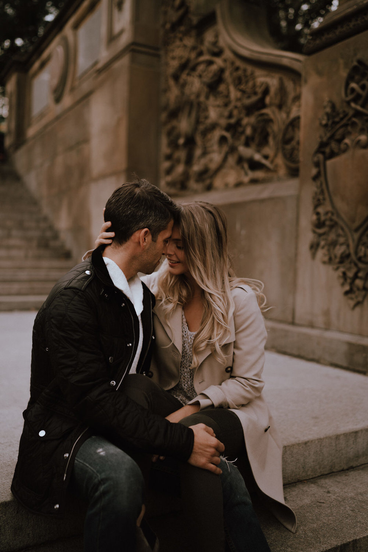 New York Engagement Photos- Bethesda Terrace- Central Park- Michelle Gonzalez Photography-249.JPG