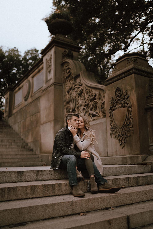 New York Engagement Photos- Bethesda Terrace- Central Park- Michelle Gonzalez Photography-273.JPG