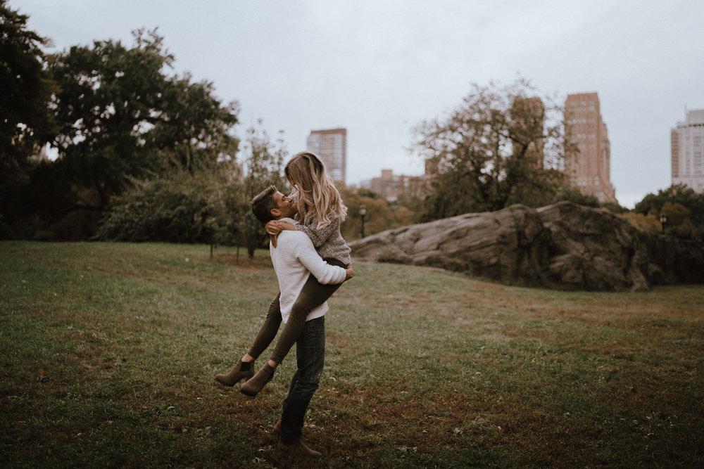 New York Engagement Photos- Bethesda Terrace- Central Park- Michelle Gonzalez Photography-283.JPG