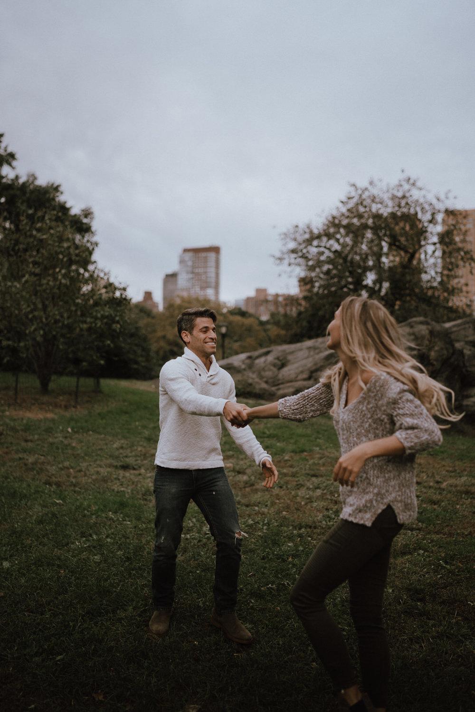 New York Engagement Photos- Bethesda Terrace- Central Park- Michelle Gonzalez Photography-413.JPG