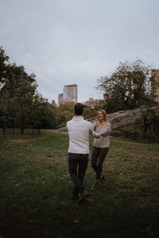 New York Engagement Photos- Bethesda Terrace- Central Park- Michelle Gonzalez Photography-414.JPG
