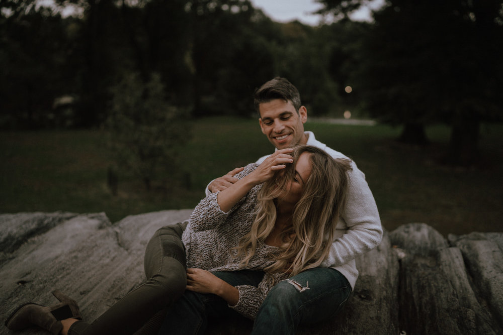 New York Engagement Photos- Bethesda Terrace- Central Park- Michelle Gonzalez Photography-520.JPG