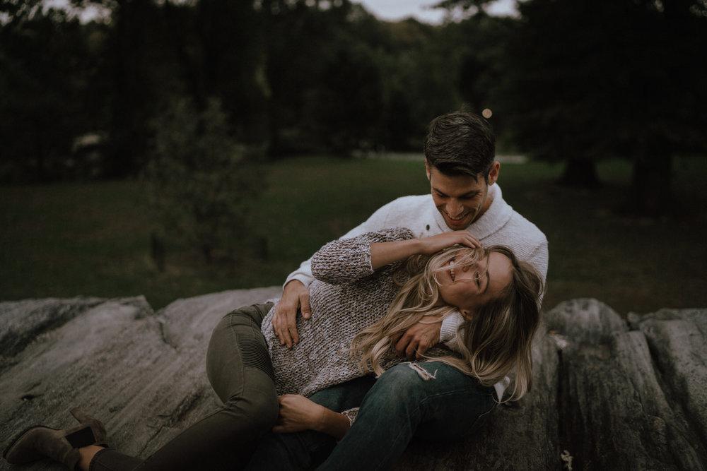 New York Engagement Photos- Bethesda Terrace- Central Park- Michelle Gonzalez Photography-522.JPG