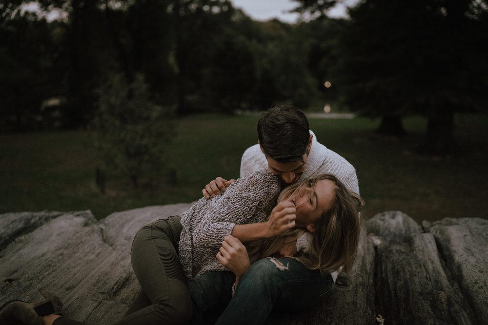 New York Engagement Photos- Bethesda Terrace- Central Park- Michelle Gonzalez Photography-524.JPG