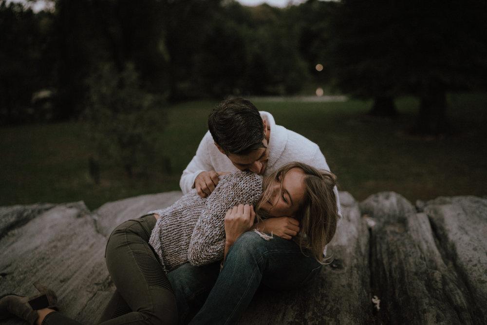 New York Engagement Photos- Bethesda Terrace- Central Park- Michelle Gonzalez Photography-525.JPG