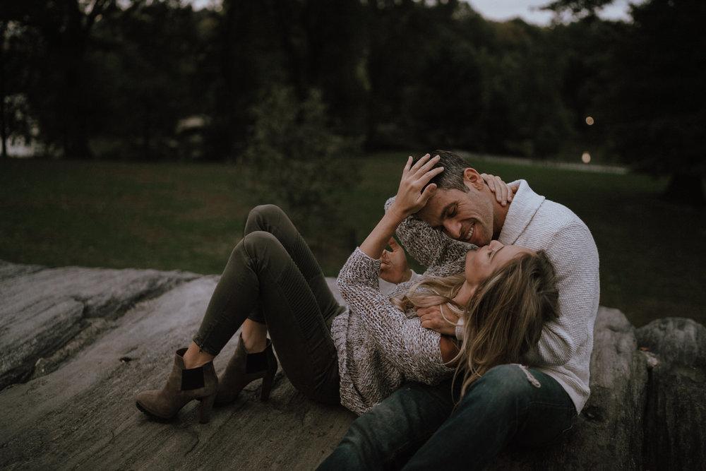 New York Engagement Photos- Bethesda Terrace- Central Park- Michelle Gonzalez Photography-544.JPG