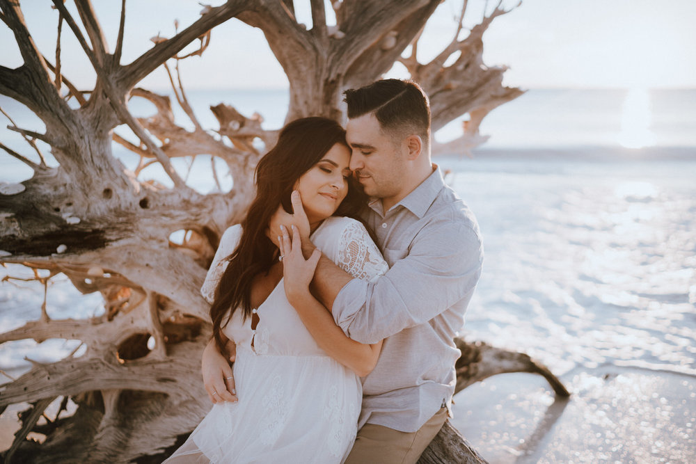 Fort Myers Engagement Photograher-Lovers Key State Park- Michelle Gonzalez Photography- Desiree and Bryan-206.JPG