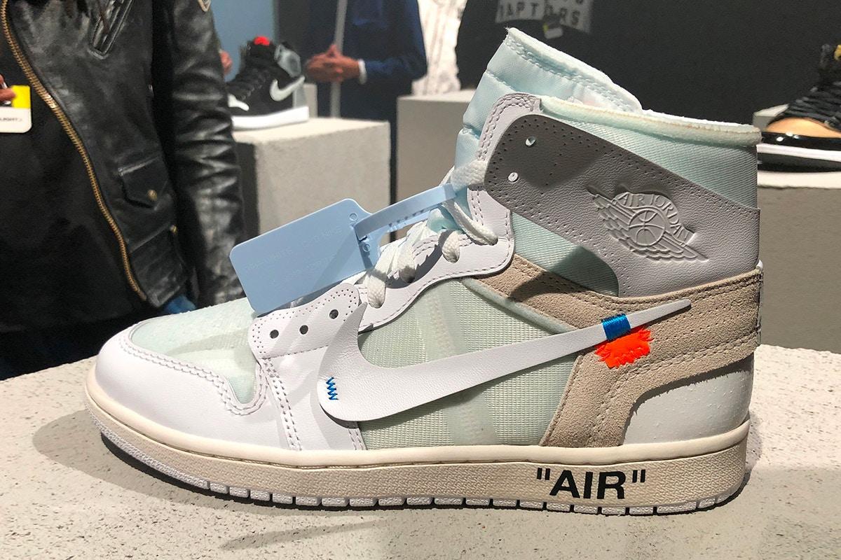 air jordan 1 off white bianche