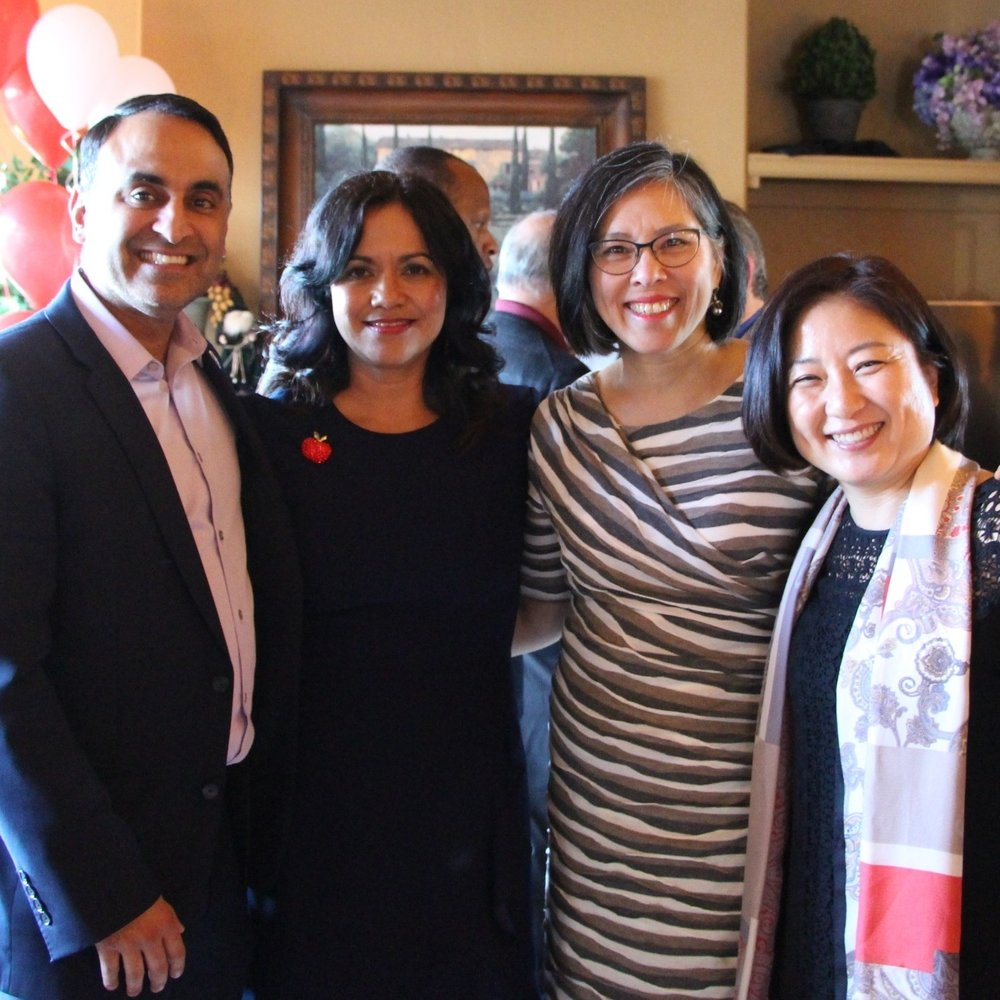Ash Kalra, Claudia, Rosemary Kamei and Anna Song
