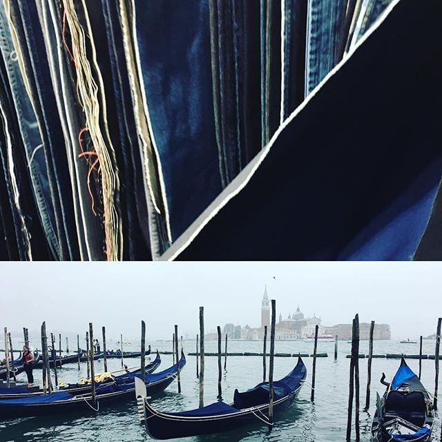 💙Beautiful BLUE 💙 today in Venice -like a collection of finest denim! #thebluesuit  #ethicalfashion  #sustainablefashion  #slowfashion  #madeinitaly  #blueplanet  #venice
