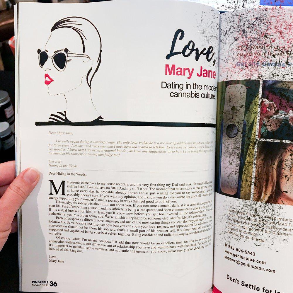 Love, Mary Jane advice column