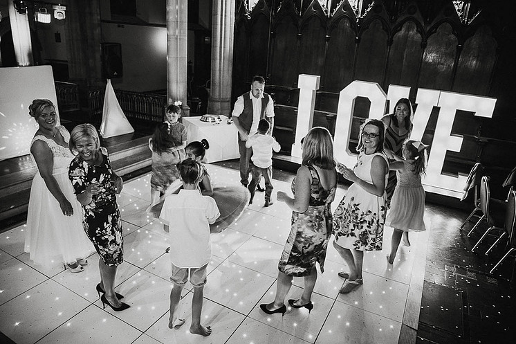 4 feet LOVE letters at St Augustines, Westgate On Sea, Kent, with DJ & Dancefloor package