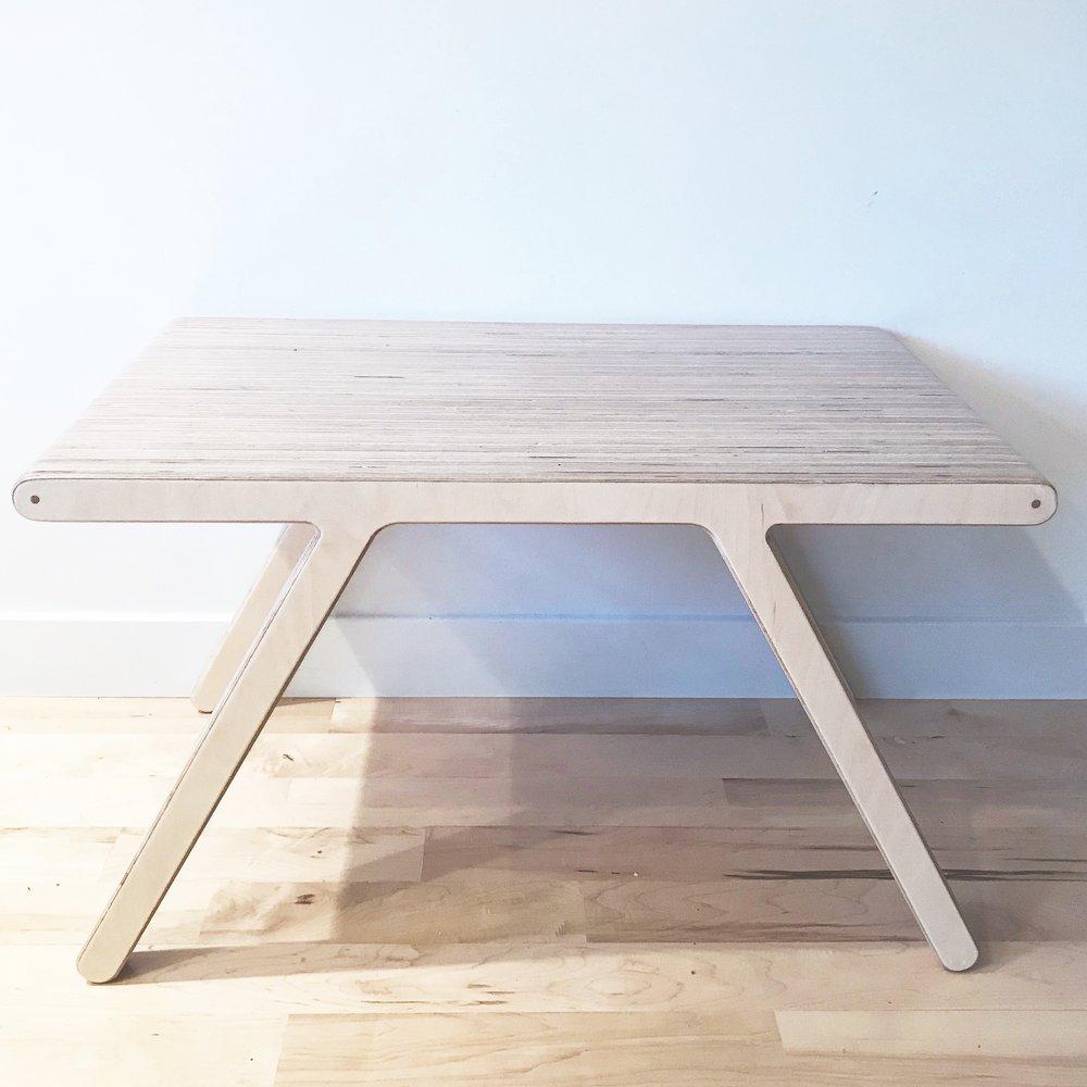 UNA collection - sleek laminated plywood furniture