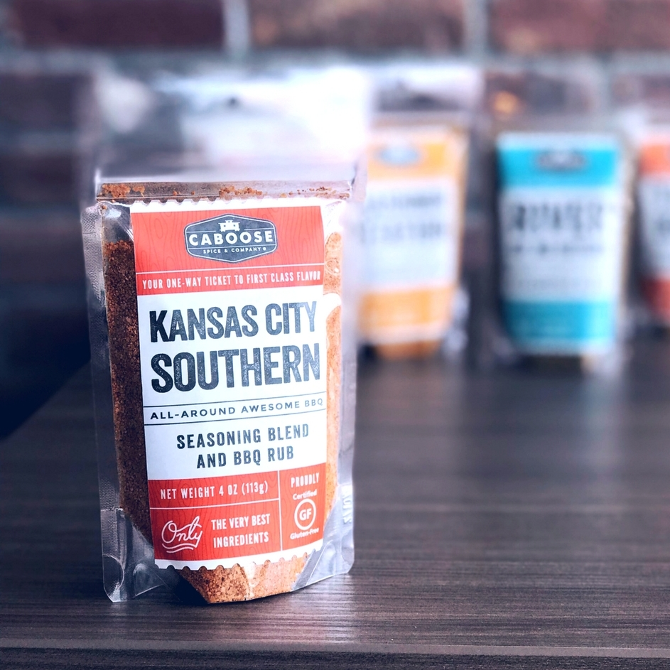 Caboose Spices Kansas City Southern All Around Awesome BBQ Seasoning Blend and Rub