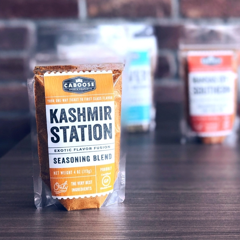 Caboose Spices Kashmir Station Exotic Flavor Fusion Seasoning Blend