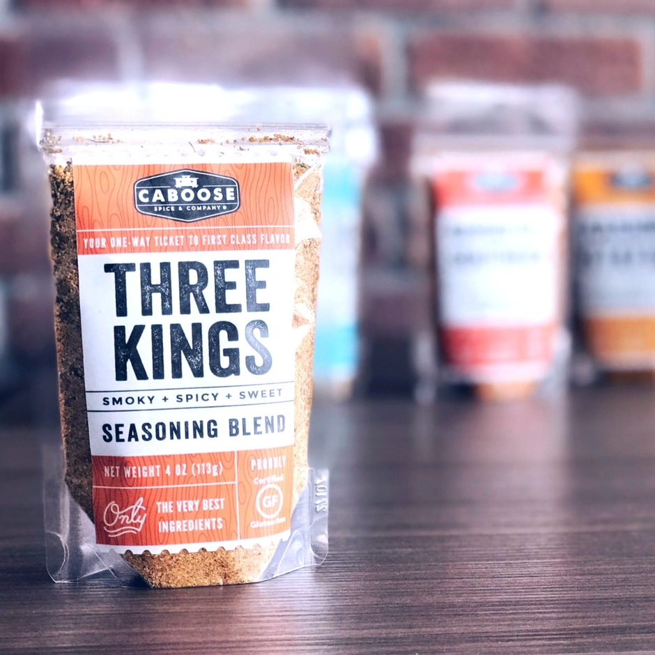 Caboose Spices Three Kings Smoky + Spicy + Sweet Seasoning Blend