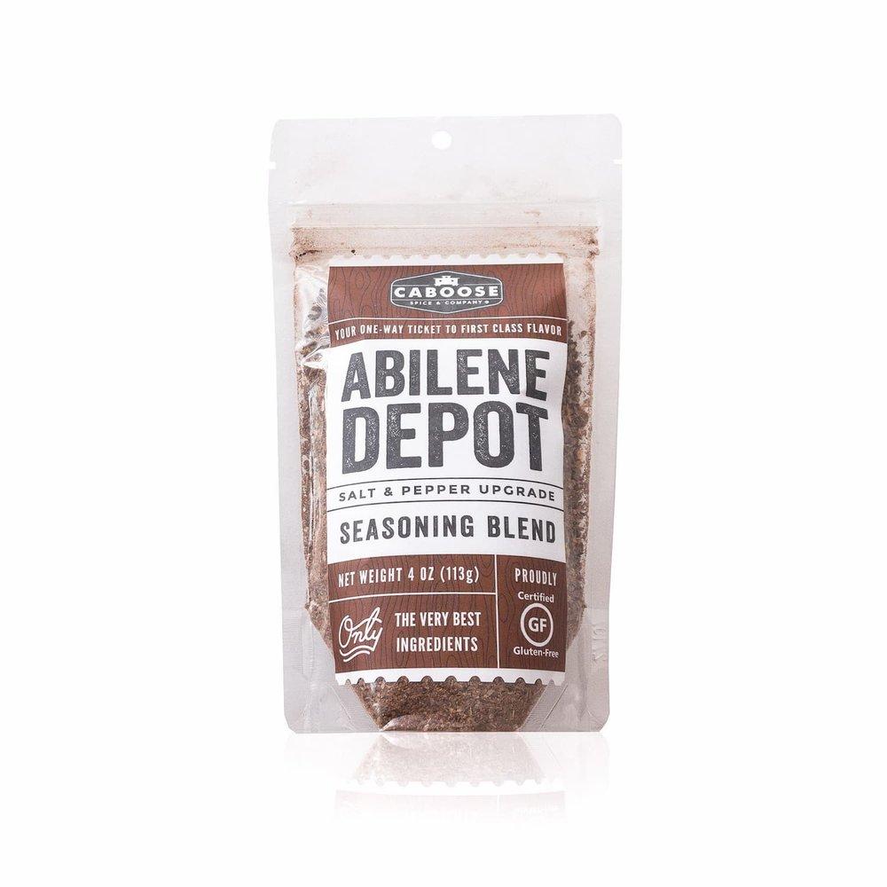 Abilene Depot 4 oz Pouch Front Label.jpg