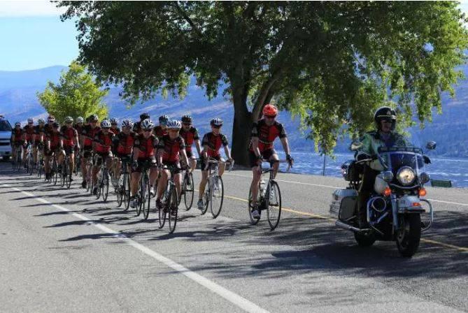 Bike ride - Kelowna Foundation