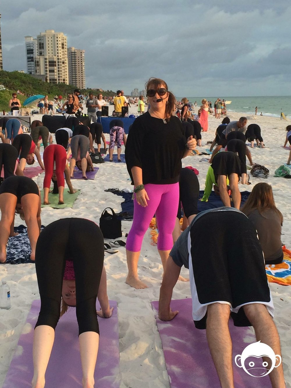 Community Beach Class To Raise Funds & Awareness for Wellfit Girls