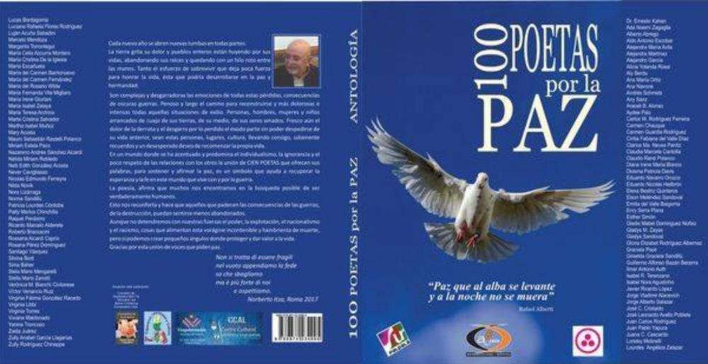 "Antología ""100 poetas por la paz"""