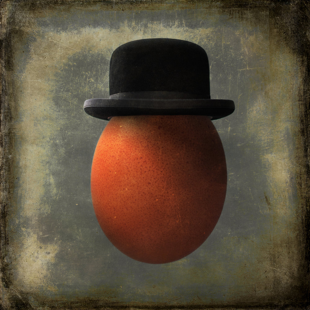 Dec, 2017 - My photo, Portrait of an Egg in a Bowler Hat was awarded an Honorable Mention in the Chromatic Awards International Color Photography competition, 2017. It's one of my favorite pieces.