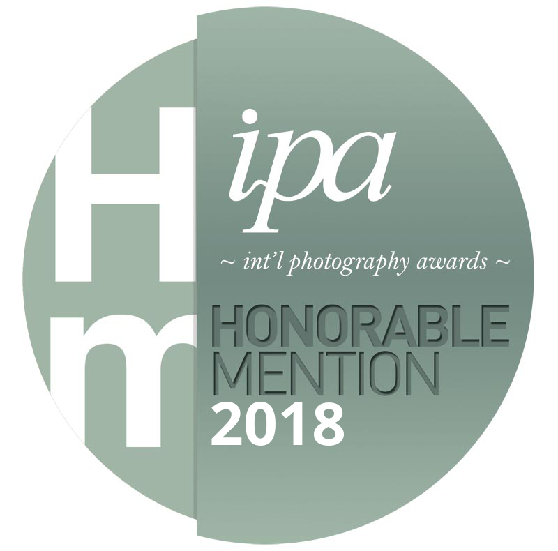 Oct, 2018 - Two of my photos, Profile Pic and Subject/Object No. 5, have received Honorable Mentions in the Professional Fine Art category of the International Photography Awards (The Lucies).
