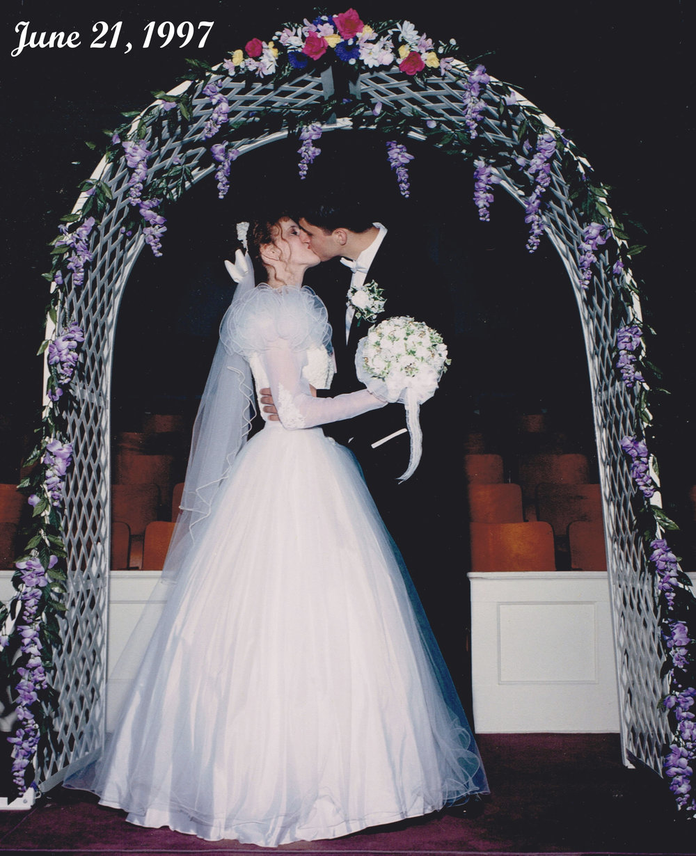 Wedding Day - June 21, 1997