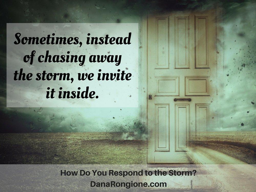 How Do You Respond to the Storm?DanaRongione.com.jpg