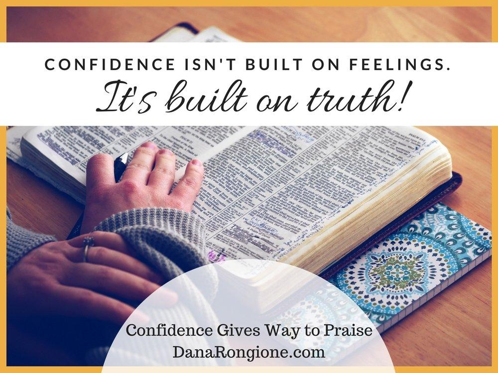 confidence isn't built on feelings..jpg