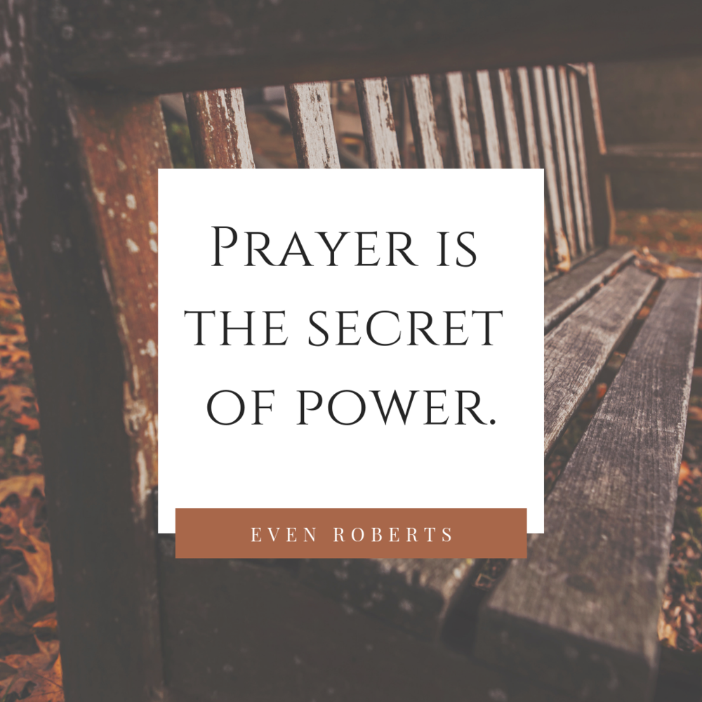 Prayer is the secret of power..png