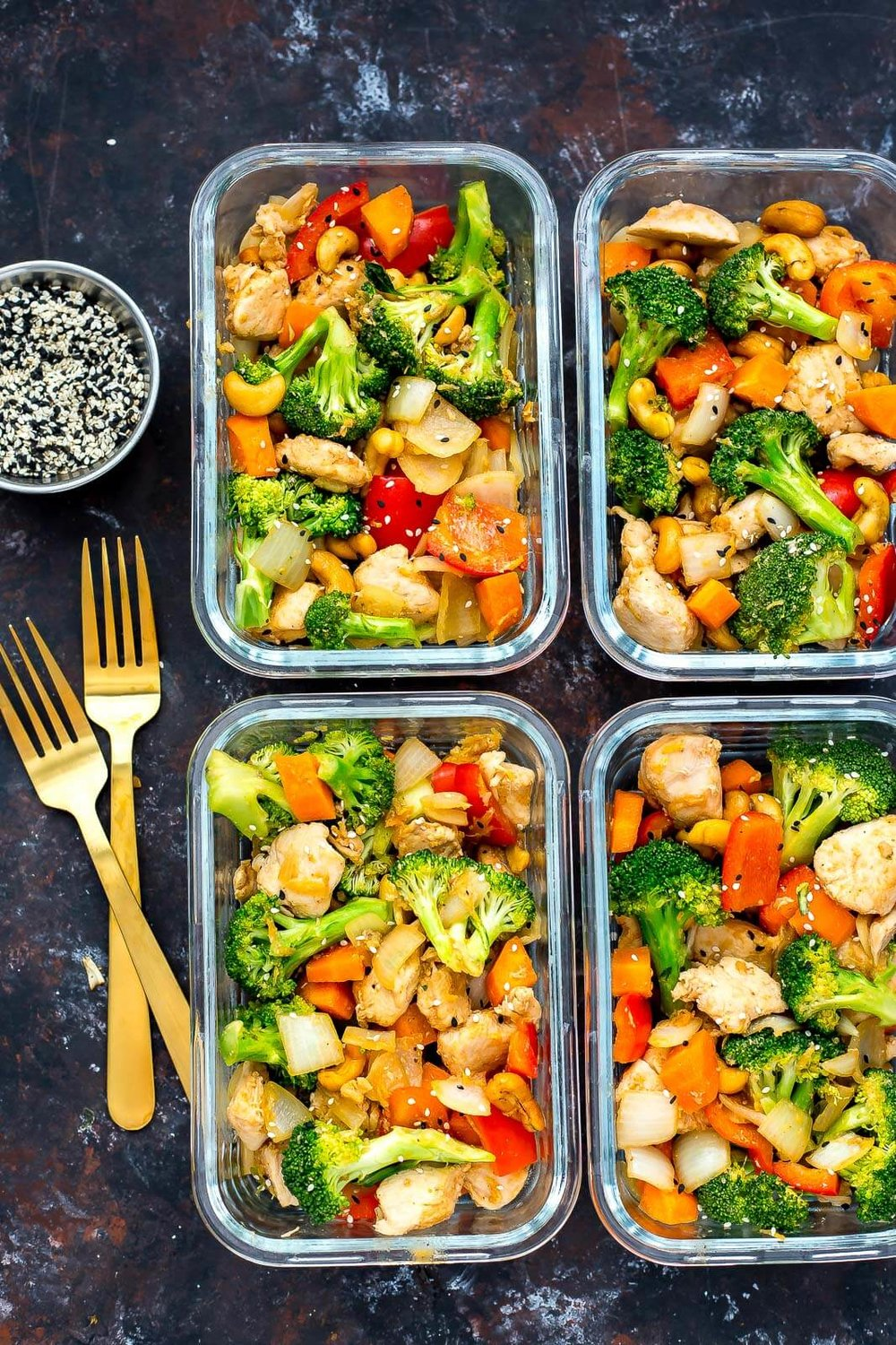 Day 14 - Preparing your meals in advance can be a healthy-eating lifesaver. It takes time and planning to eat healthy all week. And while making a week's worth of meals and snacks can help you curb any potential mid-week snack cravings, eating the same thing every day can get boring. Try separating a baking sheet into three compartments using aluminium foil and use different flavourings or marinades to cook a variety of proteins or veggies at the same time. What do you think is the best low-glycemic side dish?