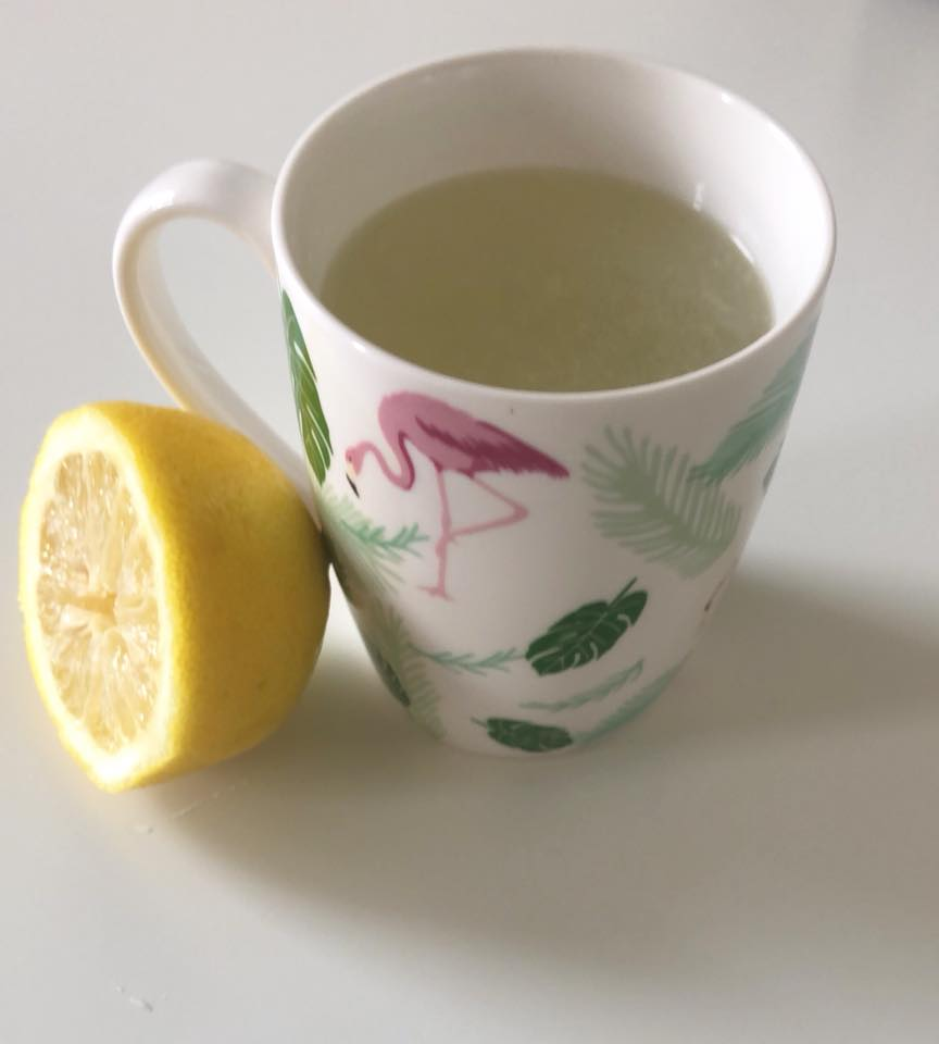 Day 17 - One of my favourite detox tips is to start the day with a warm lemon water. Simply squeeze about a quarter of a fresh lemon in the bottom of a mug and add hot water. You can also add a slice of fresh ginger, which is excellent for digestion.Try it this morning! It will soon become a habit!